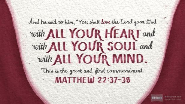 Matthew-22-37-38