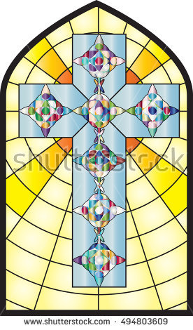 stainedglasscross
