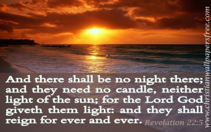 Revelation 22 _5 Bible verse