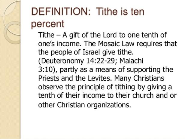 TithePrinciple