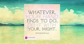 Ecclesiastes9v10