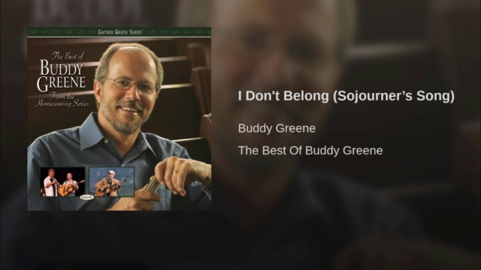 Buddy Greene I don't Belong Sojourners Song