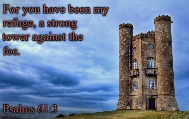 psalm61-3 Strong tower